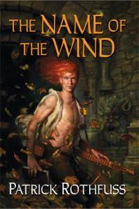 Portada original de El nombre del viento