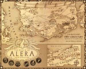 Mapa de Alera
