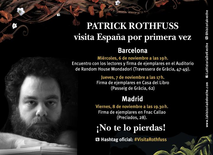 Patrick rothfuss la historia de kvothe - Casa del libro barcelona passeig de gracia ...